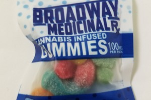 100mg Gummies Hybrid image