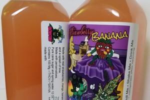 100mg Monstah Juice- Straw/ Banana image