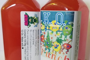 100mg Monstah Juice- Fruit Punch image