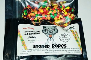 100mg Stoned Nerds Rope  image