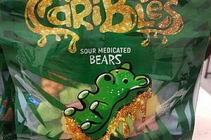 Caribles Sour Gummy Bears image
