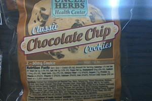 Chocolate Chip 100mg image