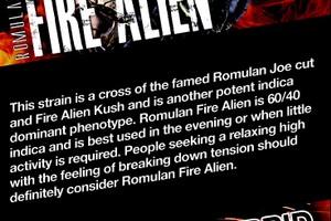 Fire Alien Romulan image
