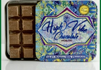 High Vibe Hazelnut Milk Chocolate 400mg image