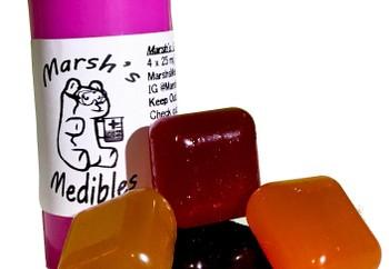 Marshs Medibles Gems 220mg THC image