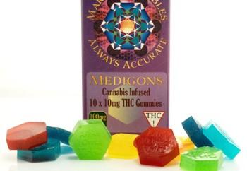 Marsh's Medibles Medigons 100mg THC image