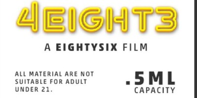 02- 4EIGHT3 cartridge (THC: 98.45%): FIRE OG (EXCLUSIVE)(NEW)
