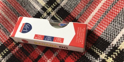 Banana OG 1.0 Cartridge (I-95 Brand)