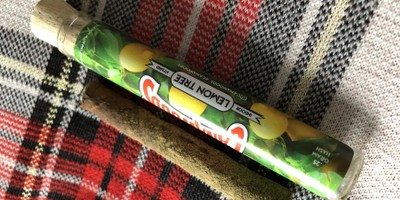 Cannawoods Novelty Blunt - Lemon Tree 2 g Flower - 0.25 g Shatter - 0.25 g Kief Blunt