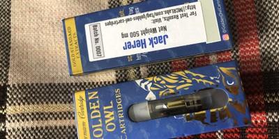 Jack Herer 0.5 Cartridge (Golden Owl)