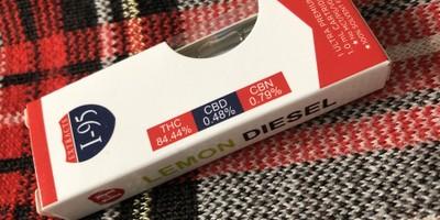 Lemon Diesel 1.0 Cartridge (I-95 Brand)