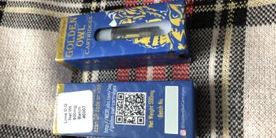 Lime OG 0.5 Cartridge (Golden Owl)