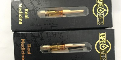 Vape Meds Full Gram Vape Cartridges