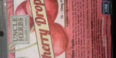 Cherry Drops 100mg