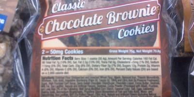 Chocolate Brownies 100mg