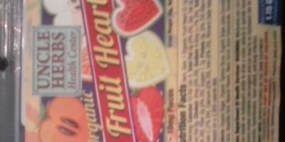Fruit Hearts 100mg