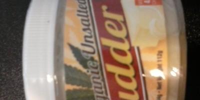 Organic Unsalted Budder 250mg