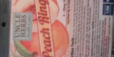 Peach Rings 100mg