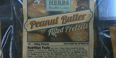 Peanut Butter Pretzels 100mg