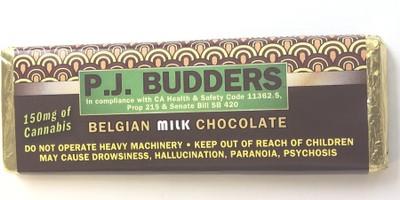 P.J. Budders Bar 150mg