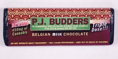 P.J. Budders Bar 450mg