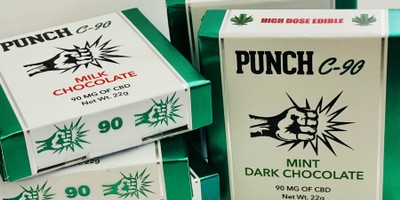 Punch CBD Chocolate Bars