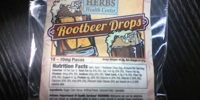 Rootbeer Drops 100mg