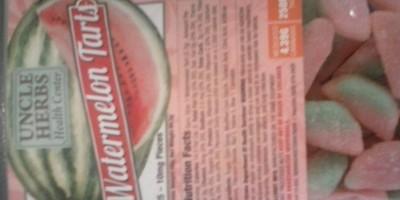 Water Melon Tarts 250mg