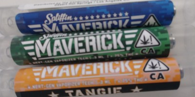 Maverick by Spliffin Pre-loaded Cartridges