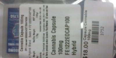 THC Capsules 100mg
